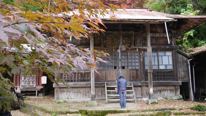 大山寺の前不動