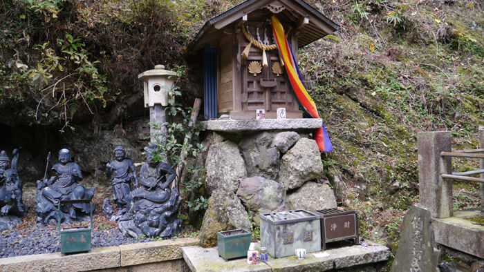 大山寺の八大童子