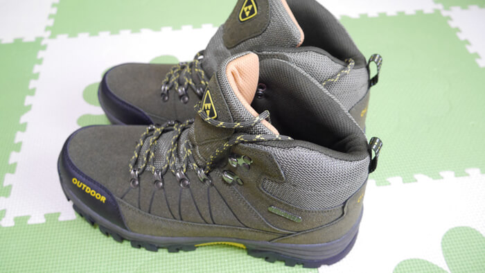 Amazonで買った安い登山靴