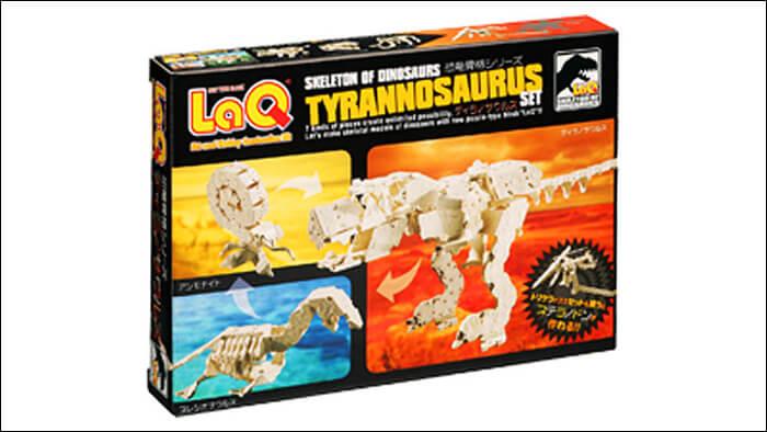 LaQ 恐竜骨格 ティラノサウルスセット