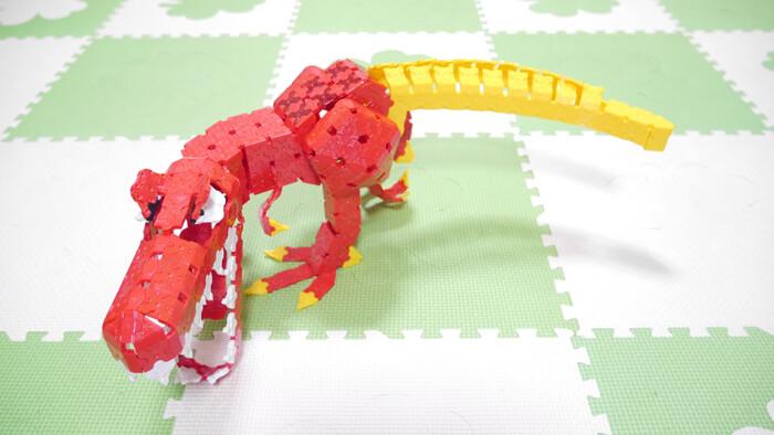 WEB限定 作り方ギャラリー ティラノサウルス