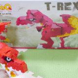 LaQ ダイナソーワールド ティーレックスの箱と恐竜