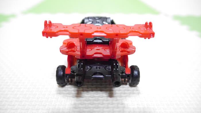 レースカー (後ろ)