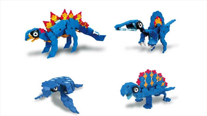 LaQ ダイナソーワールド ステゴサウルス
