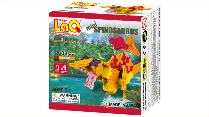 LaQ ダイナソーワールド ミニ スピノサウルス