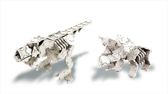 LaQ ダイナソーワールド 恐竜骨格