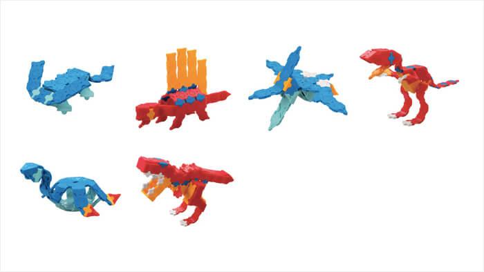 LaQ ホビーキット ティラノサウルスセット