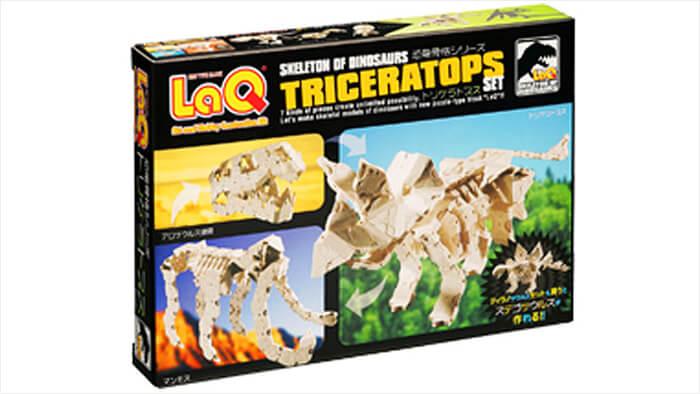 LaQ 恐竜骨格 トリケラトプスセット