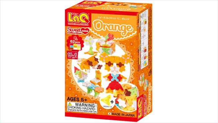 LaQ スイートコレクション ミニ オレンジ